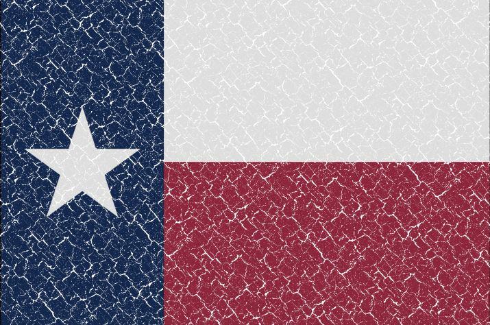 Vlajka státu Texas